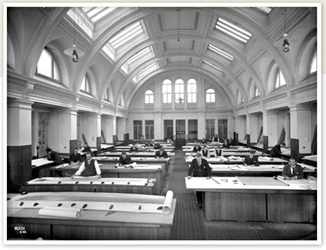 Harland & Wolff Drawing Office, 1912