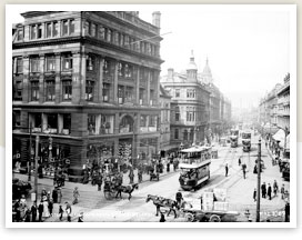 Belfast city centre c. 1912.